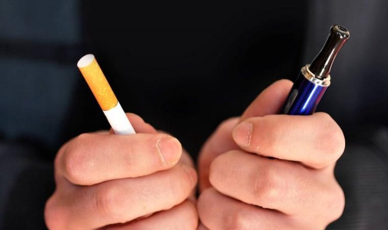 'Elektronik sigara kullanımı sigarayı bırakmada alternatif değil'