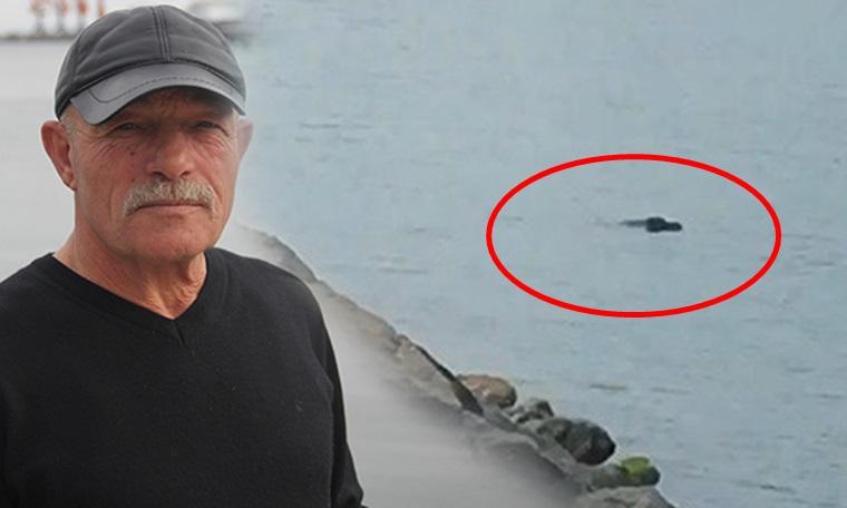 Denize atlayan adamı oltayla kurtardı