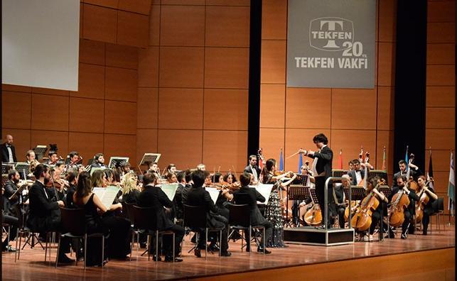 Tekfen Filarmoni bahar  konserlerine başladı