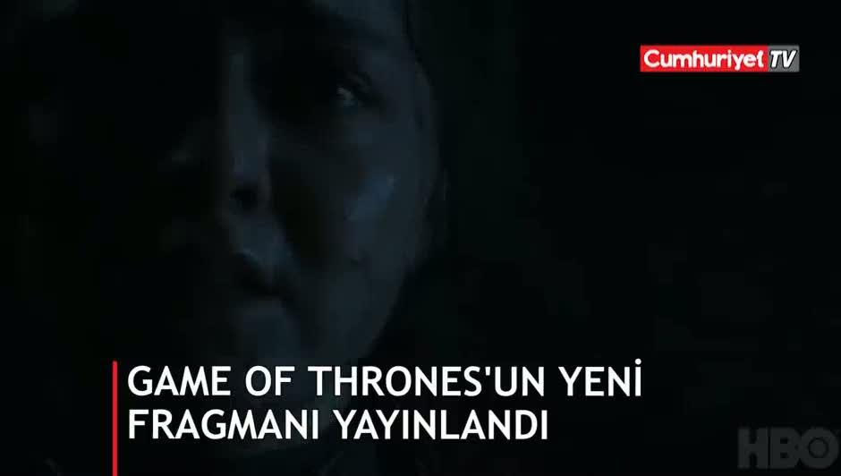 Game of Thrones'un 8. sezonundan ilk fragman yayınlandı