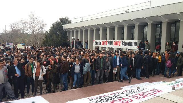 ODTÜ'de 'devrim' kazandı