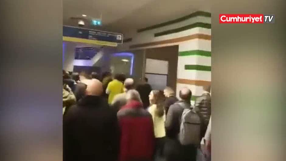 Fenerbahçe taraftarından İmamoğlu tezahüratı