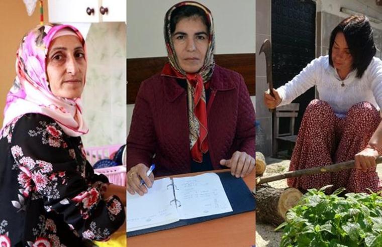 Kadın adaylar engel tanımadı