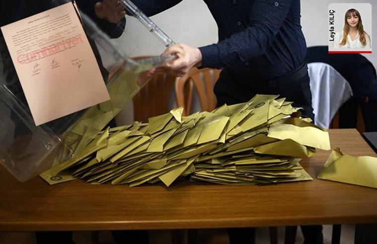Polis Büyükçekmece'de seçmen avına çıktı