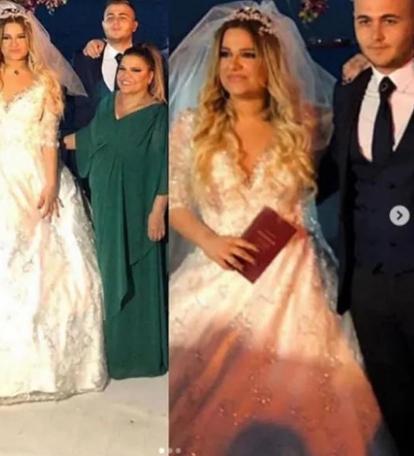 Kibariye'nin kızı Birgül Küçükbalçık evlendi ile ilgili görsel sonucu