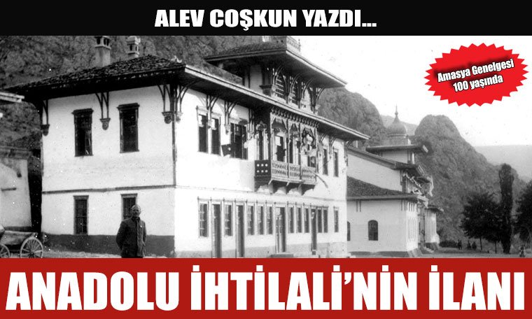 Anadolu İhtilali'nin İlanı
