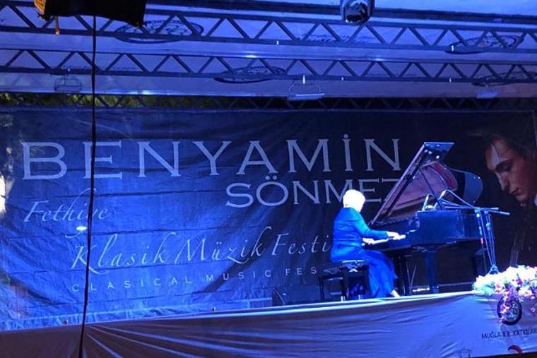 8. Benyamin Sönmez Klasik Müzik Festivali yapıldı
