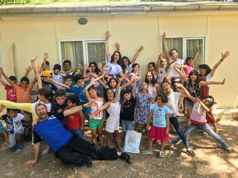 Hayalciler, 1 hafta boyunca Karaburun çocuklarıyla buluşuyor