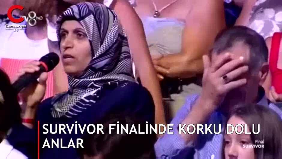 Survivor finalinde yüreklerin ağza geldiği an! Acun'dan açıklama geldi
