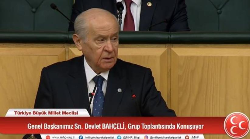 Devlet Bahçeli, AKP'nin iç işine daldı: Herkese ayar verdi