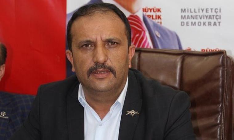 BBP Sivas İl Başkanı, AKP'li Sivas Belediyesi'ne tepki gösterdi