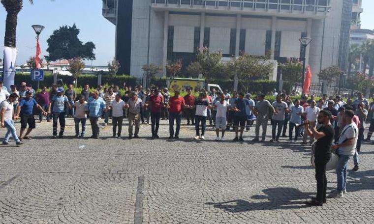 İzmir Büyükşehir Belediyesi'nde toplu sözleşme sevinci