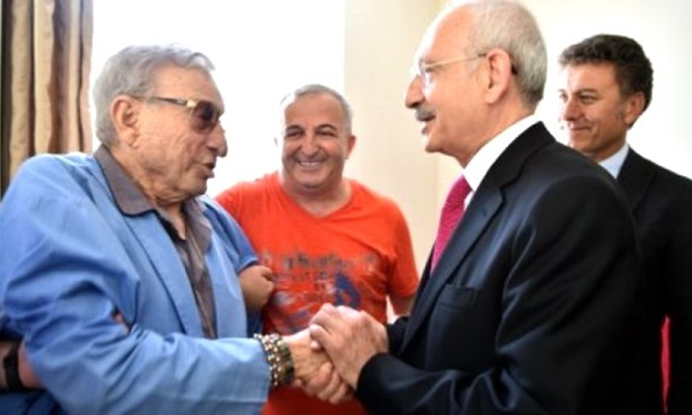 Kemal Kılıçdaroğlu, hastaneye kaldırılan Haldun Dormen'i ziyaret etti