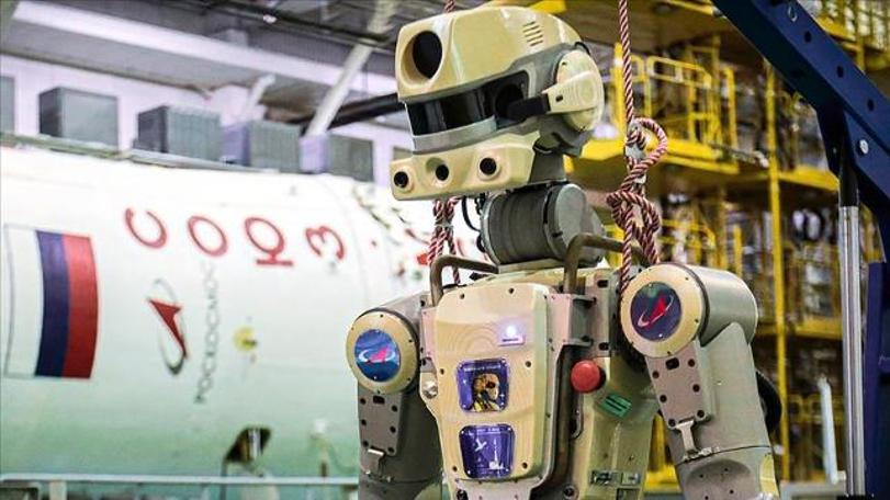 Rusya Uluslararası Uzay İstasyonuna insansı robot gönderdi