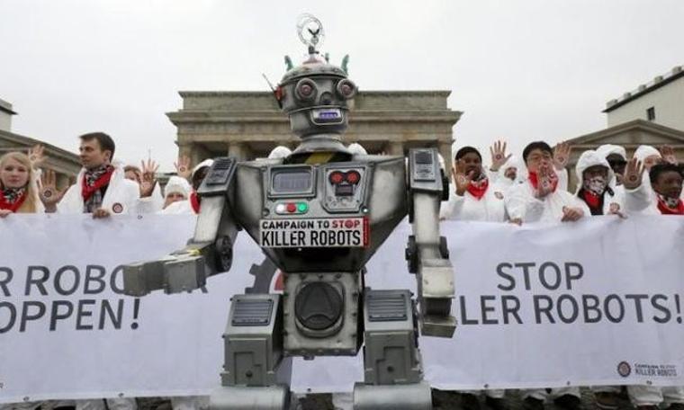 """""""Teknoloji devleri katil robotlar üzerine çalışıyor"""""""