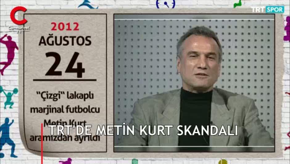 TRT'de Metin Kurt'a 'marjinal' dediler