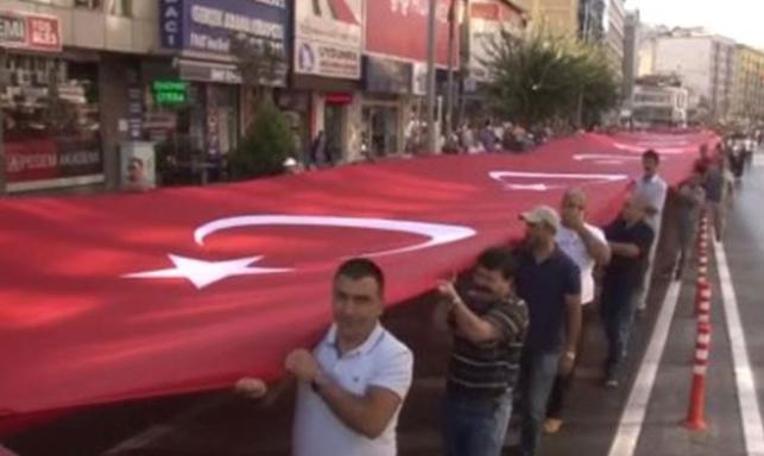 9 Eylül coşkusu ''Zafer Yürüyüşü'' ile başladı