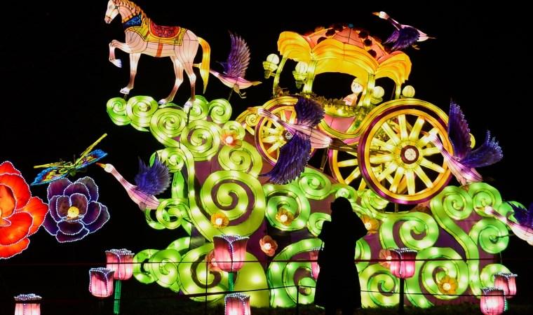 Polonya'da ışık festivali