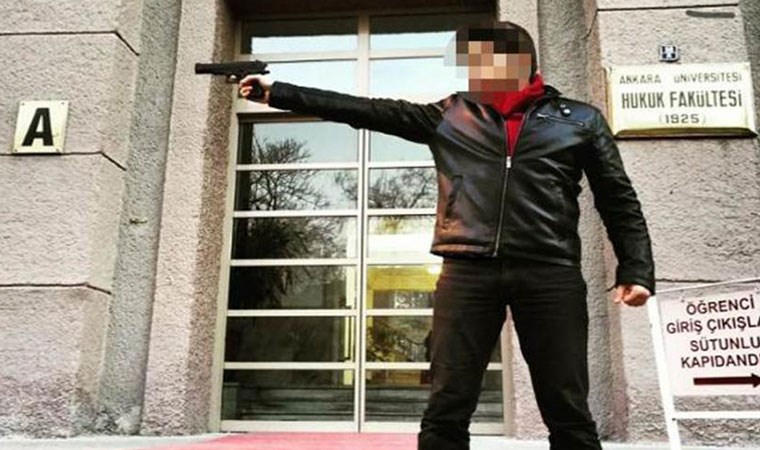Silah doğrulttuğu fakültede asistan oldu