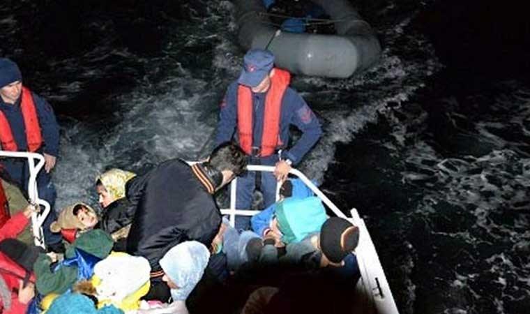 İzmir'in 4 ilçesinde Yunanistan'a geçmek isteyen 253 göçmen yakalandı