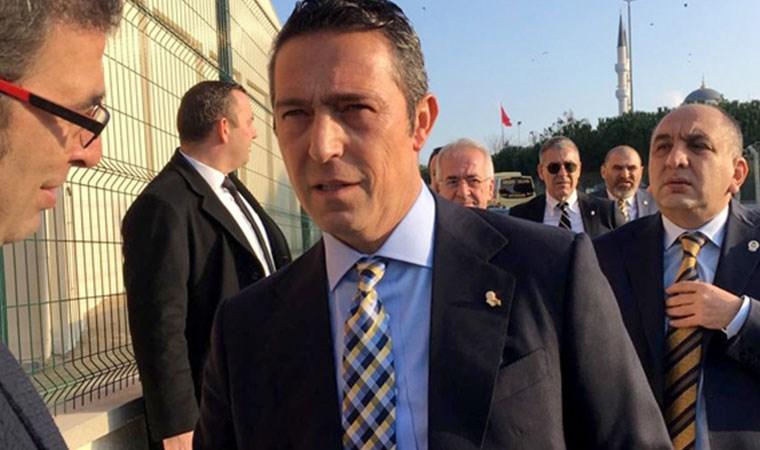 Fenerbahçe Başkanı Ali Koç ve kulüp yöneticileri Silivri'de