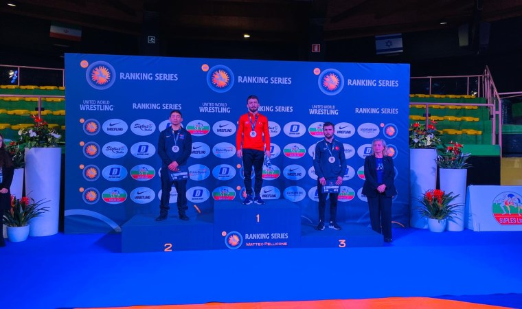 Matteo Pellicone Ranking Series Turnuvası'nda  3 madalya