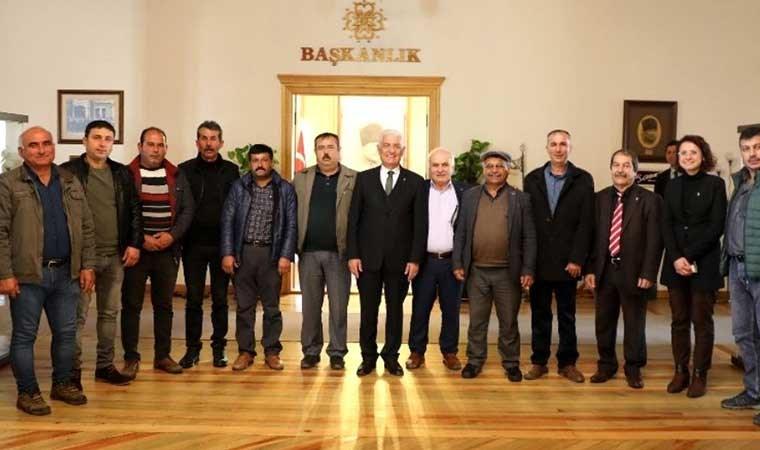 Muğla'da kooperatiflere süt tankı desteği