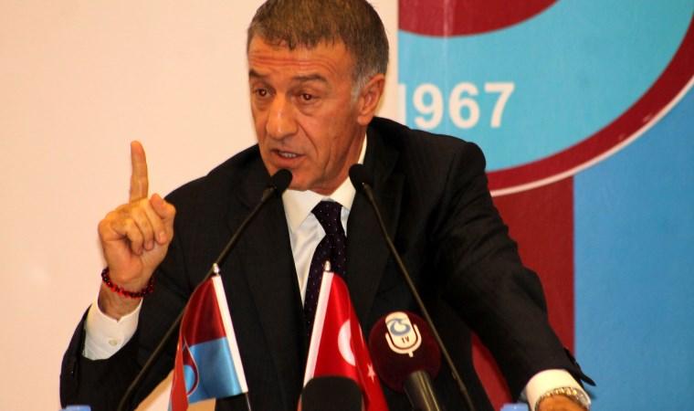 Trabzonspor Başkanından rest: Herkes kendi işine baksın