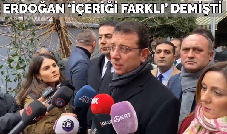 Ekrem İmamoğlu '4 sayfalık mektup'u anlattı