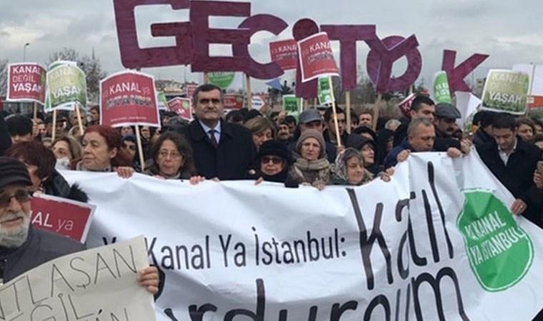 Kanal İstanbul'un ÇED raporuna tepki: #ÇEDeOnayVermiyoruz