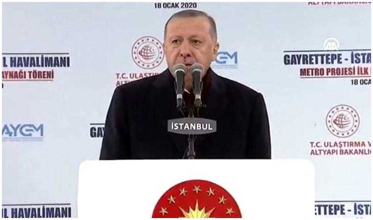 Erdoğan: İstanbul'u mahalli yönetime bırakamayız