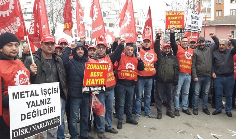 İşçiler alanlara indi, grev tarihi belli oldu