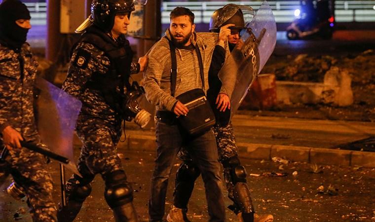 Lübnan sokakları yeniden alev aldı