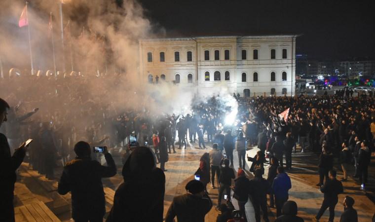 Sivas Kongre Müzesi'nde Beşiktaş galibiyeti coşkusu