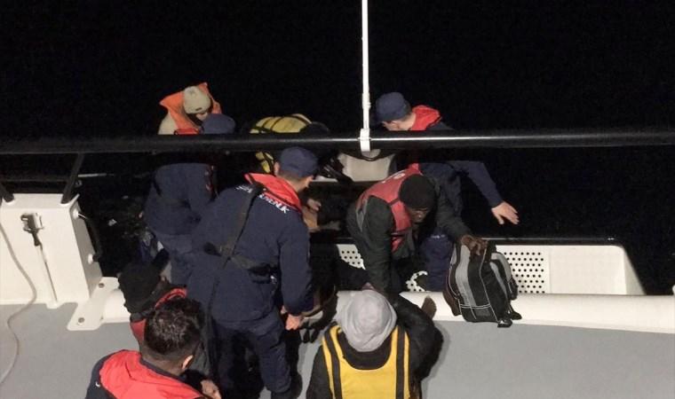 Bodrum'da yasa dışı yollarla sınırı geçmek isteyen 6 göçmen yakalandı