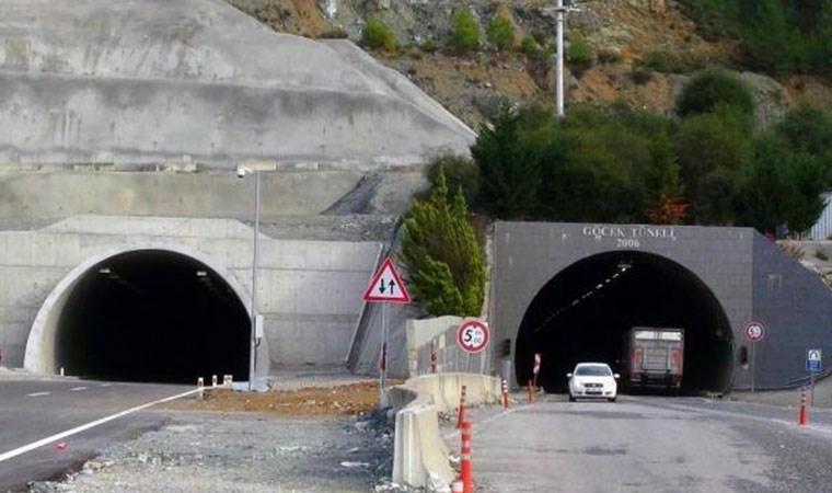 Türkiye'nin paralı tek dağ tünelinin geçiş ücretlerine zam geldi