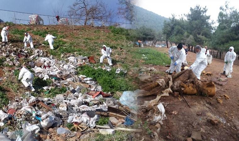 Faytonlardan sonra geriye 25 ton çöp kaldı