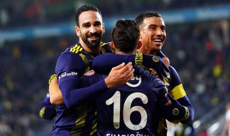 Türkiye Kupası'nda Fenerbahçe güle oynaya
