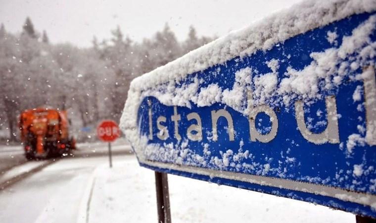 İBB tarih verdi... İstanbul'a kar geliyor