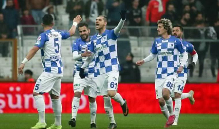 Erzurumspor Beşiktaş'ı kupadan sildi