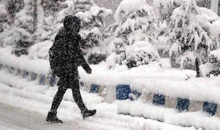 Meteoroloji saat verip uyardı! Kar bugün geliyor
