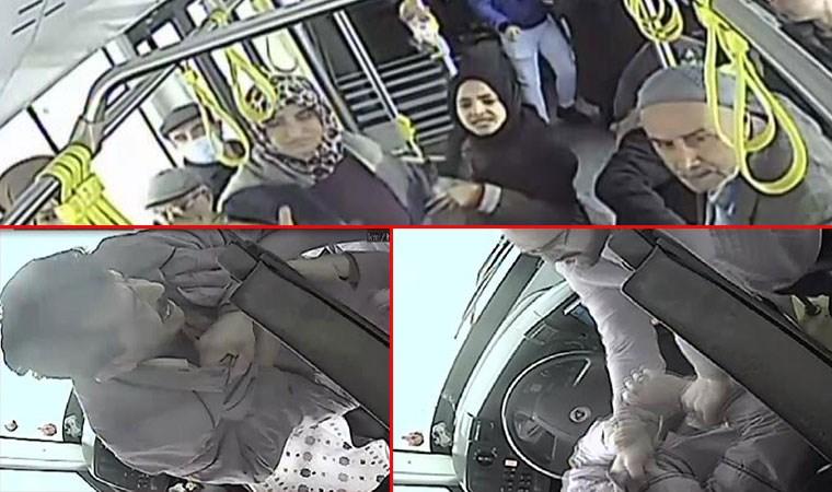 Halk otobüsünde dehşet anları! 40 kişinin canı böyle tehlikeye girdi