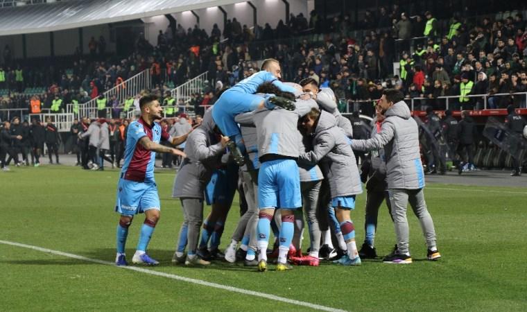 Trabzonspor penaltılarla çeyrek finalde