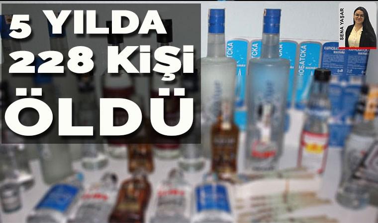 Alkol zamları 2 milyon litre kaçak içkiyi getirdi