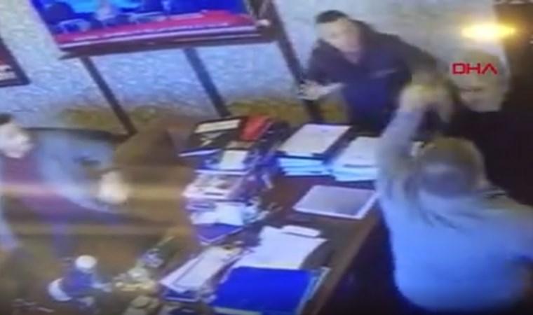 Avukatlık bürosundaki silahlı kavganın görüntüleri ortaya çıktı