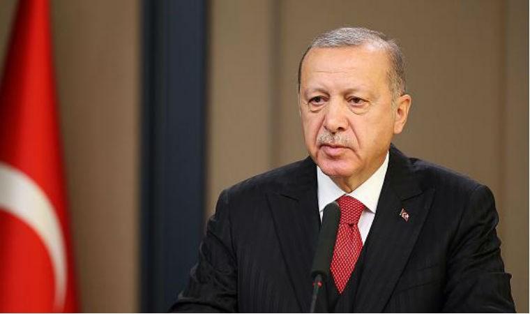 Erdoğan'dan deprem açıklaması