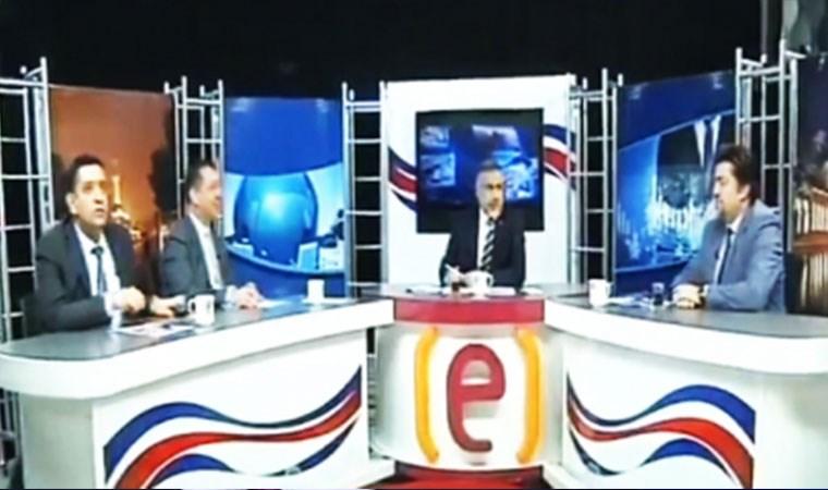#Deprem anına canlı yayında yakalandılar | VİDEO