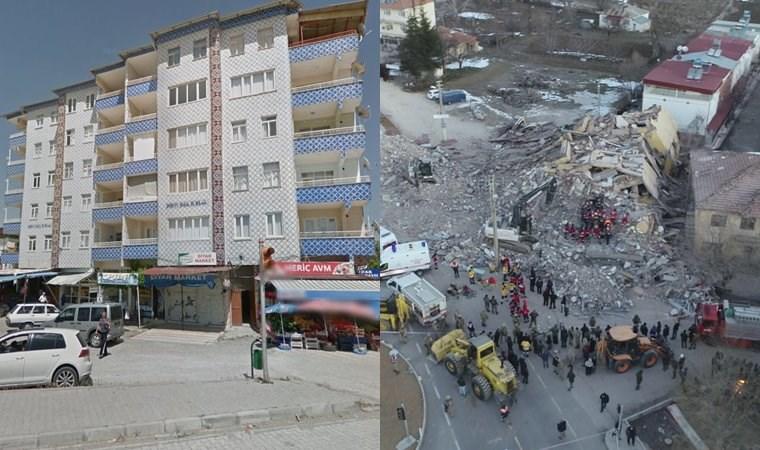 6 katlı binanın çökmeden önceki fotoğrafları