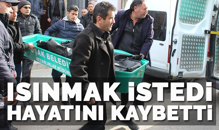 Uşak'ta soba faciası! 39 yaşındaki yurttaş hayatını kaybetti