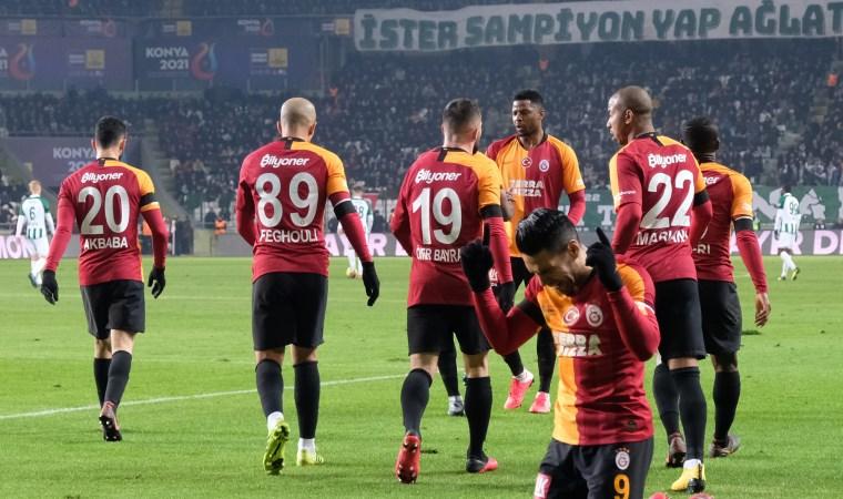 Galatasaray Konya'da şov yaptı